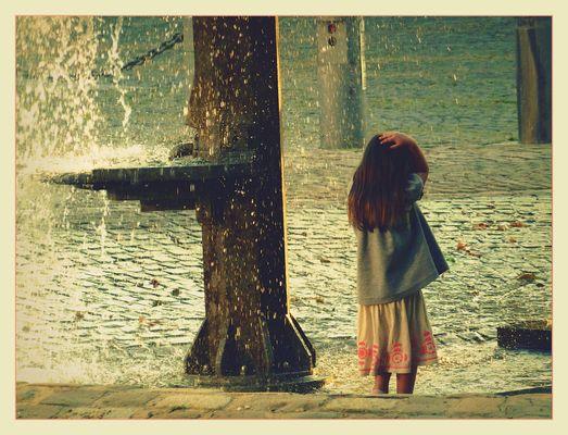 Wasser und Kinder