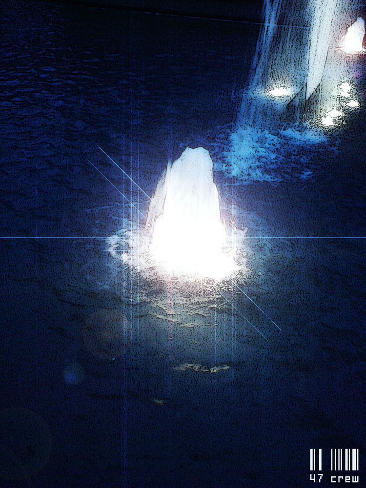 Wasser und licht
