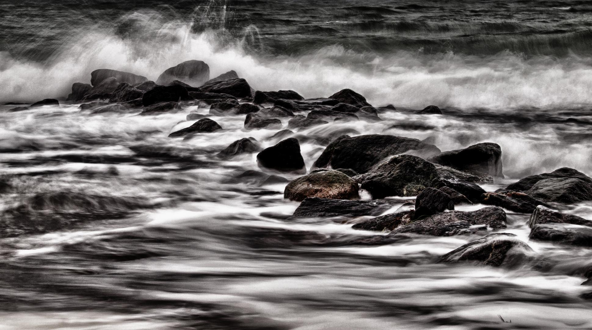 wasser und steine ...
