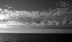 Wasser und Wolken