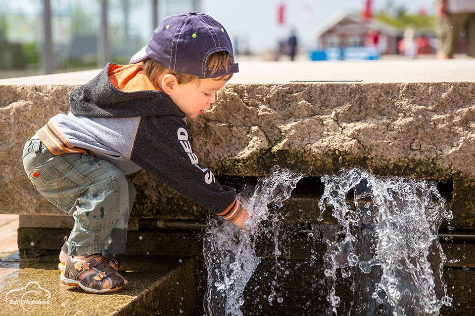 Wasser zieht magisch an...