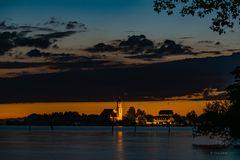 Wasserburg night