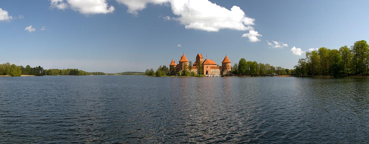 Wasserburg Trakai / Litauen