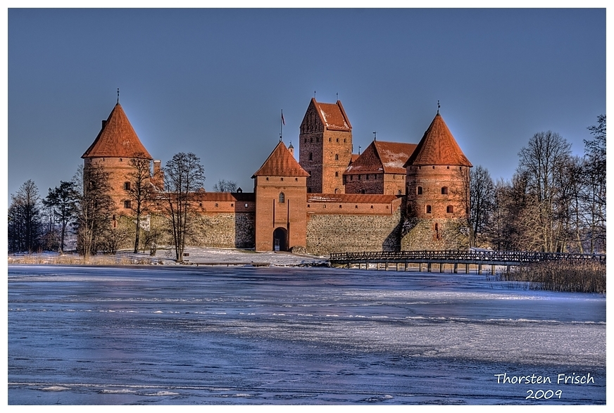 Wasserburg Trakai Winter 09