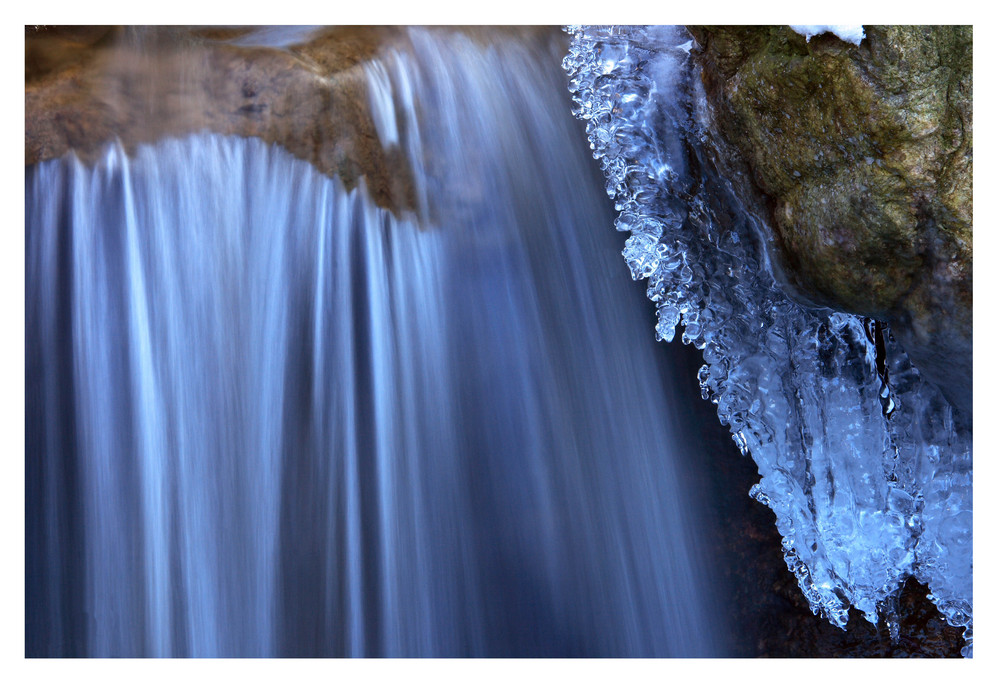 Wasser,Eis und Schnee