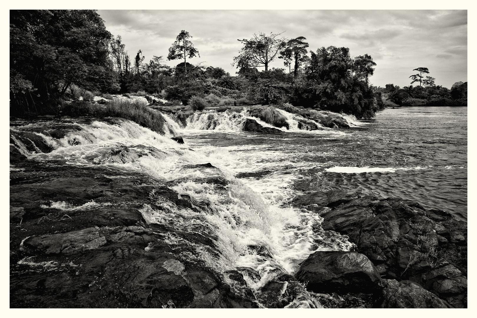 Wasserfälle bei Kribi