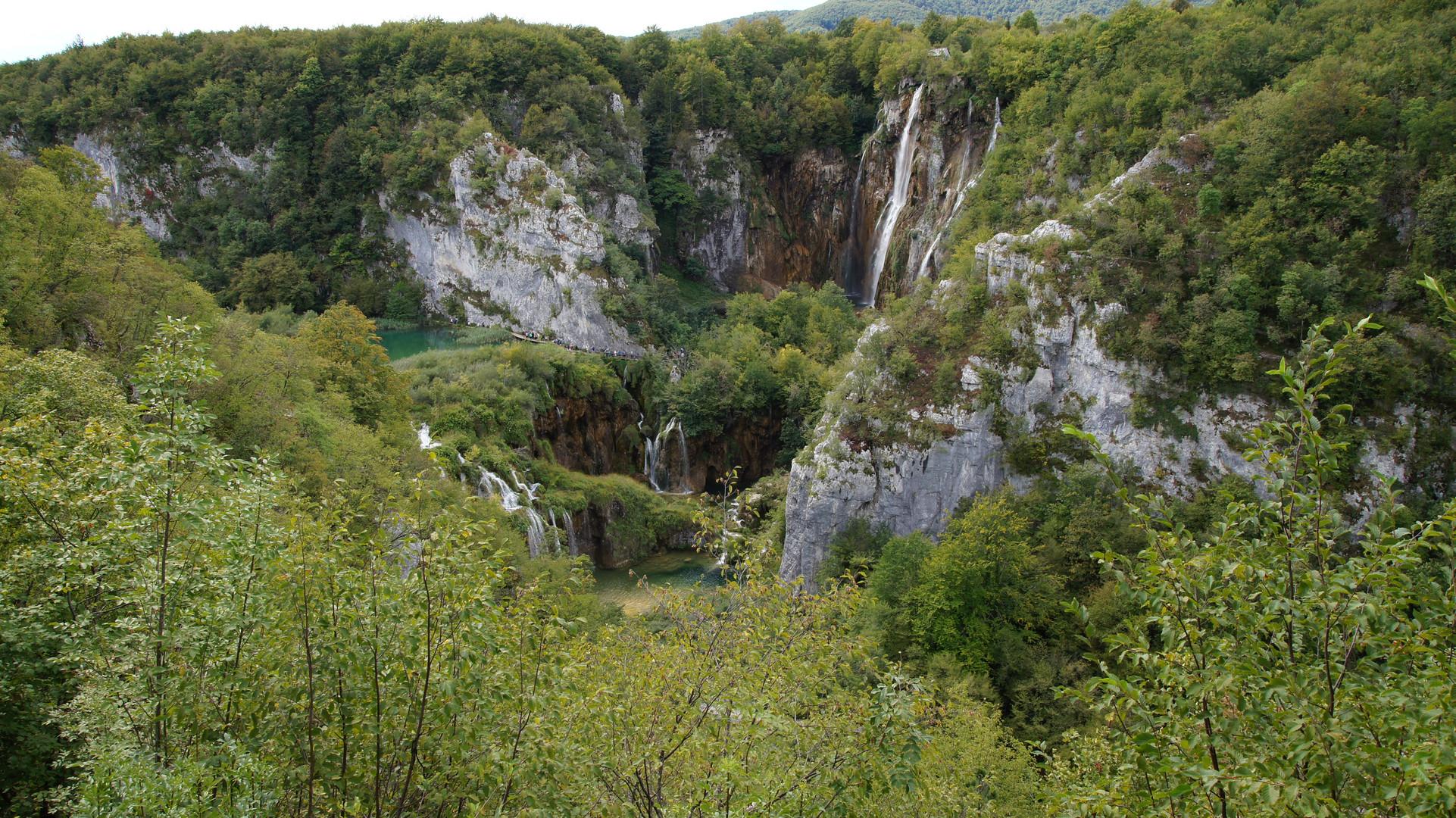 Wasserfälle der Plitvicer Seen (Plitwitzer Seen)