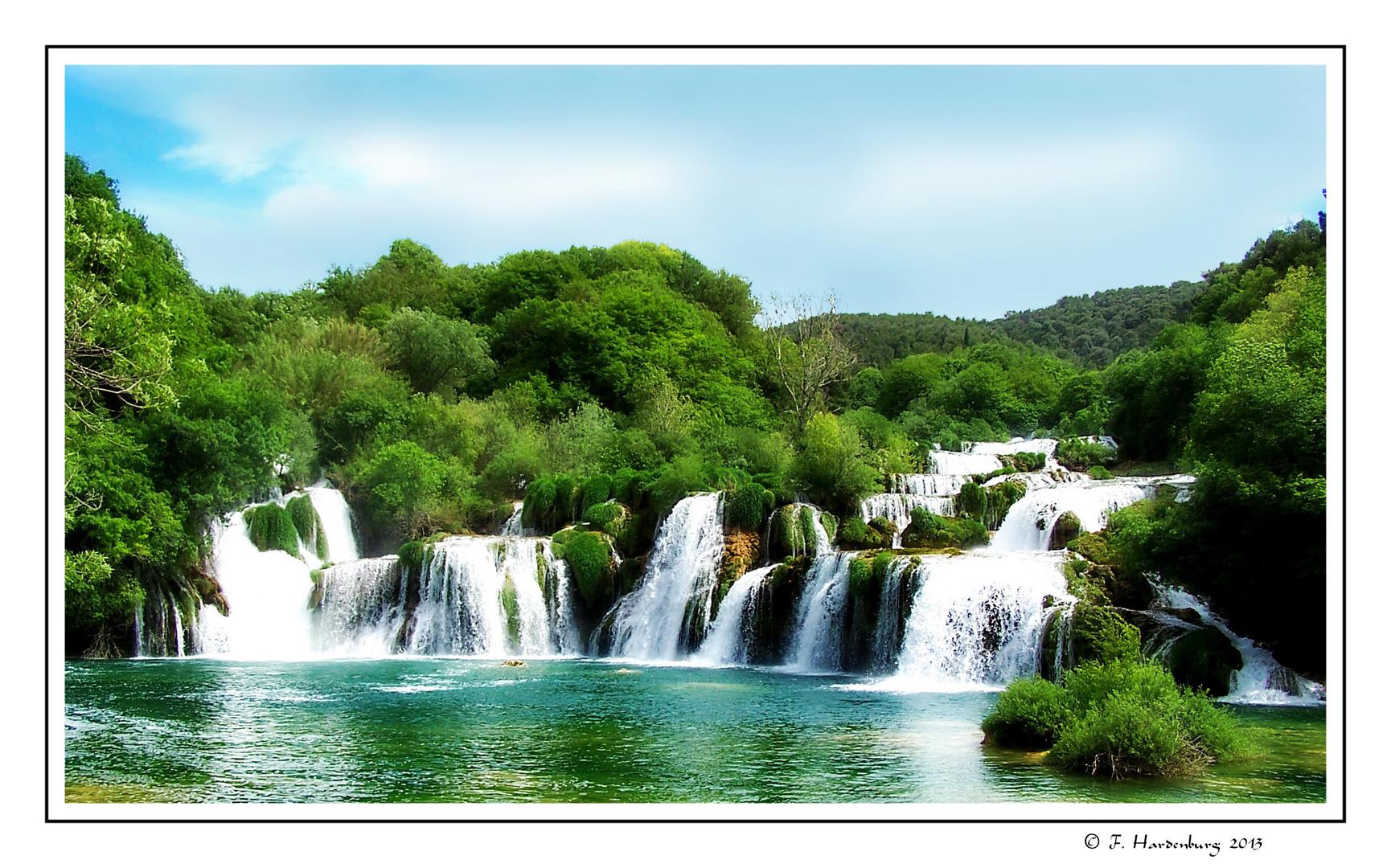 Wasserfälle im Krkanationalpark