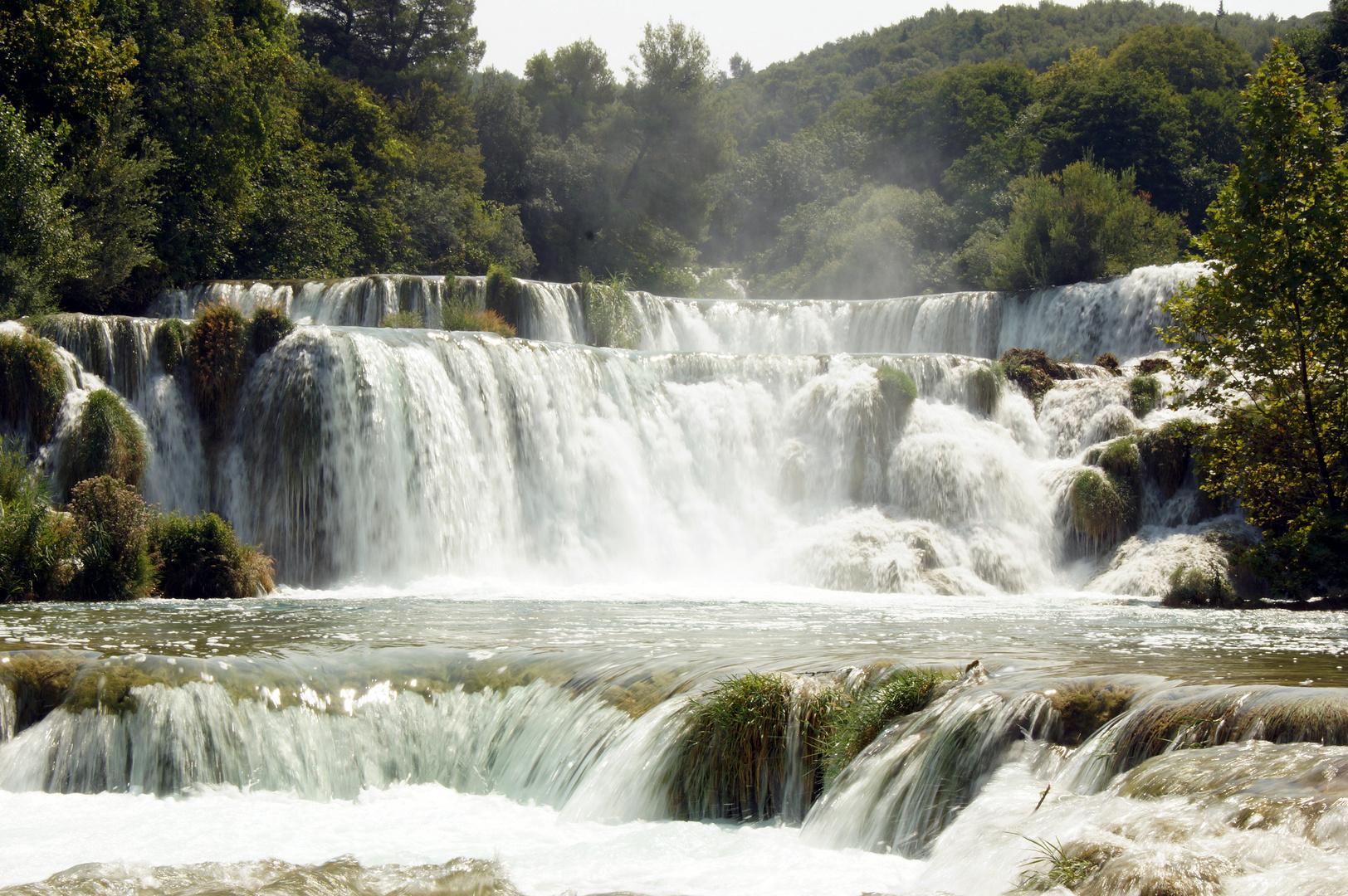Wasserfälle im Naturschutzgebiet Krka/Dalamtien