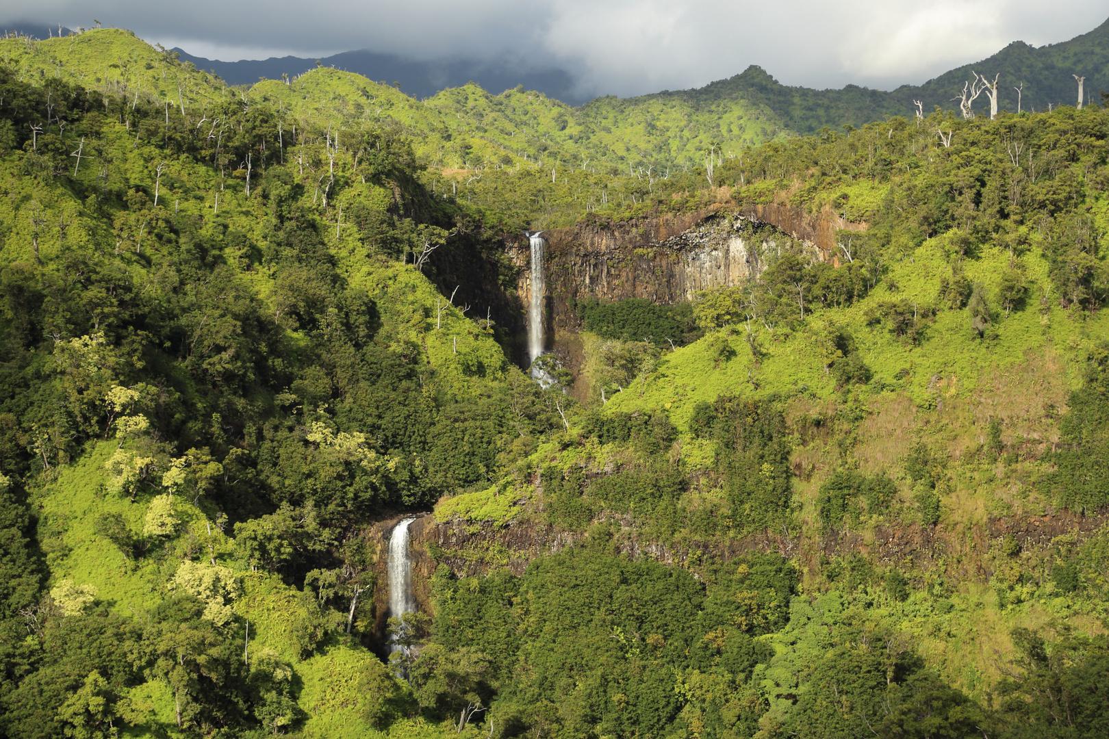 Wasserfälle in Kauai