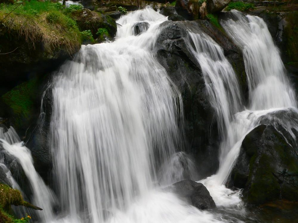+Wasserfälle in Triberg+