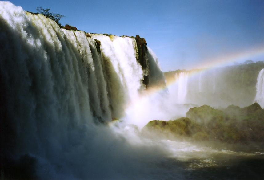 Wasserfälle von Iguacu (Brasilien)