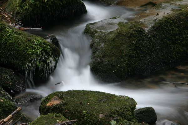 Wasserfall 2 im Silberbachtal