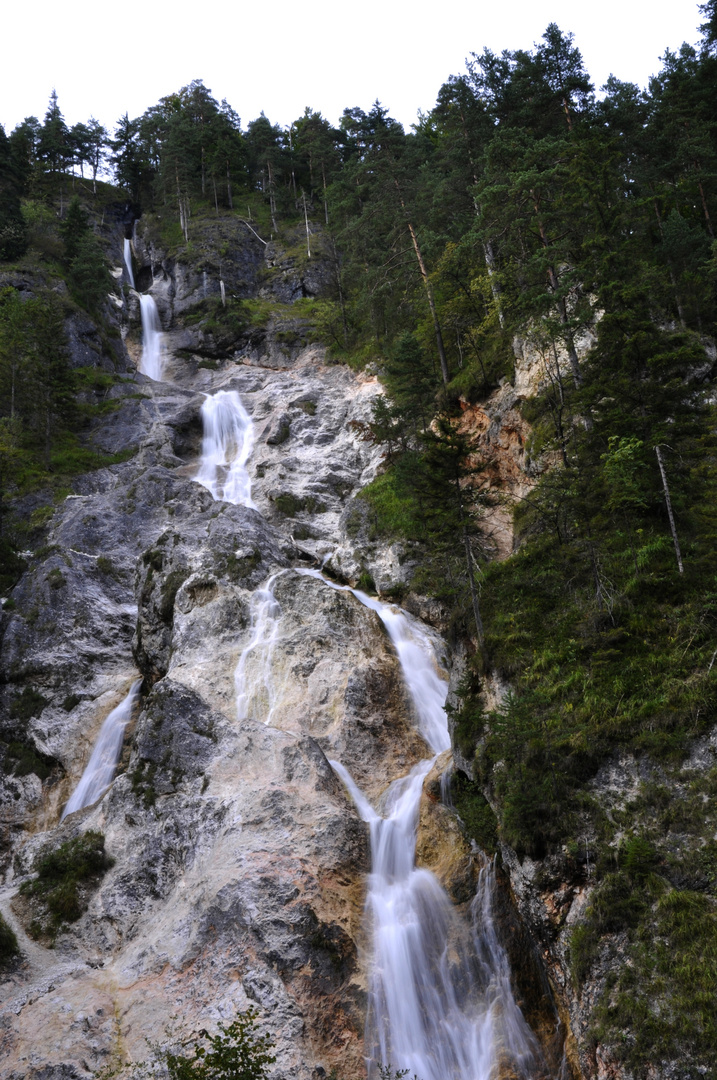 Wasserfall Almbachklamm