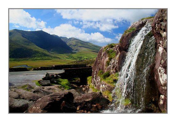 Wasserfall am Connor Pass