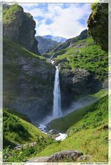 Wasserfall am Gytrielva