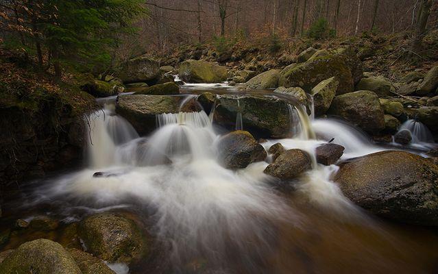 Wasserfall am Smeda