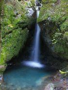Wasserfall am Wägitaler See