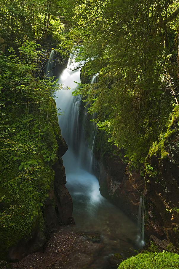 Wasserfall am Walensee