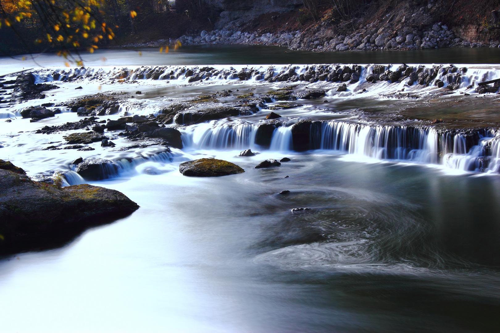 Wasserfall an der Alz