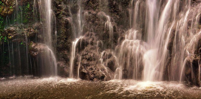 Wasserfall an der Road to Hana