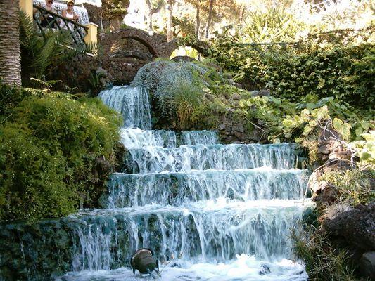Wasserfall auf Teneriffa