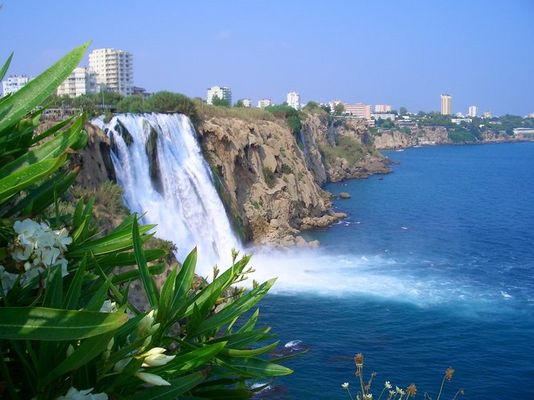 Wasserfall auf türkisch