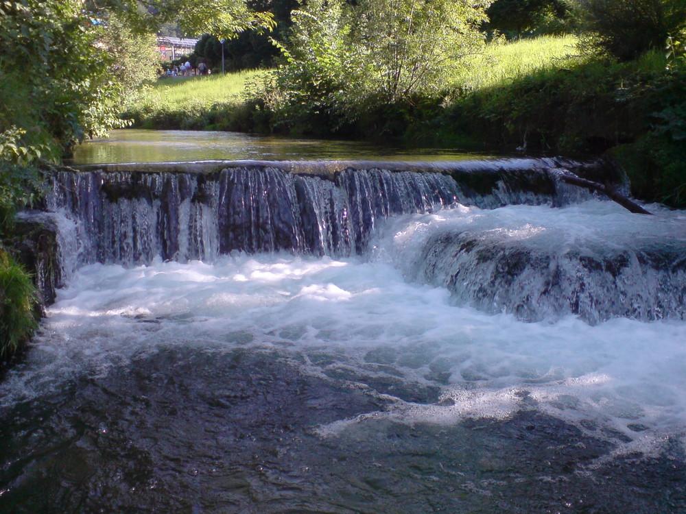 Wasserfall Bad Urach
