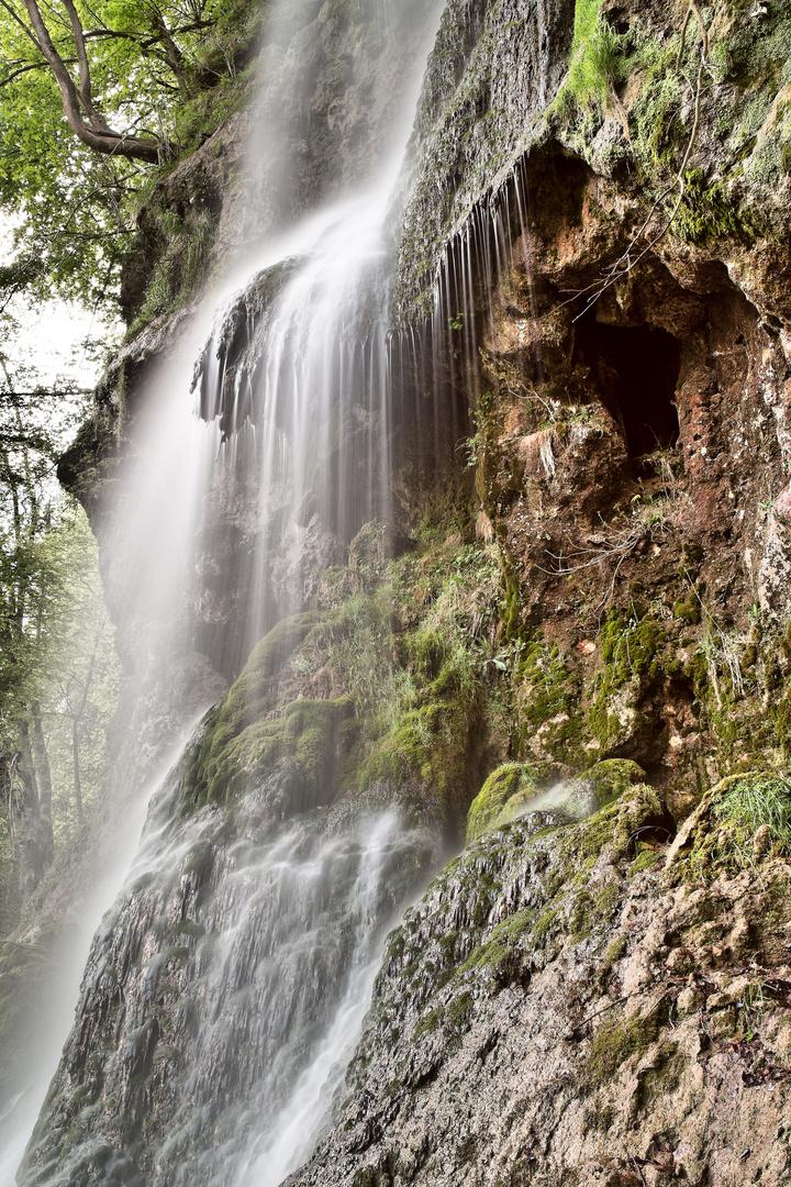 Wasserfall Bad Urach VI