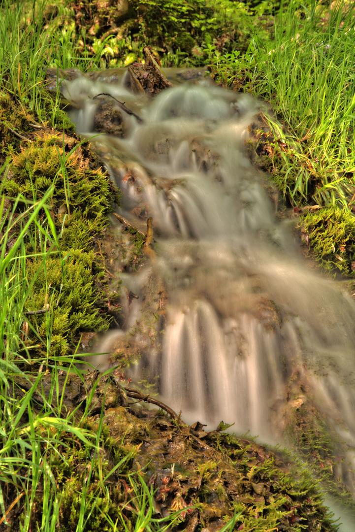 Wasserfall Bad Urach VII