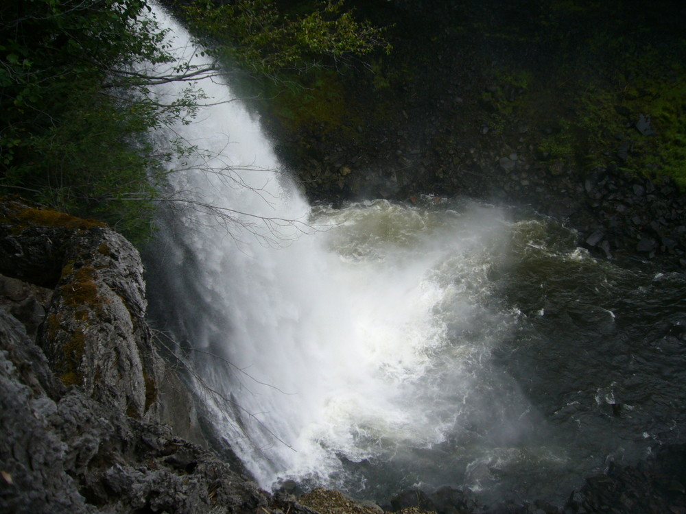 Wasserfall bei 100 Mile House