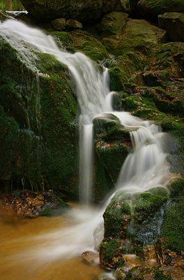 Wasserfall bei Ferdinandov [Tschechien]