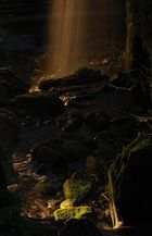Wasserfall bei Menzenschwand in der Dämmerung