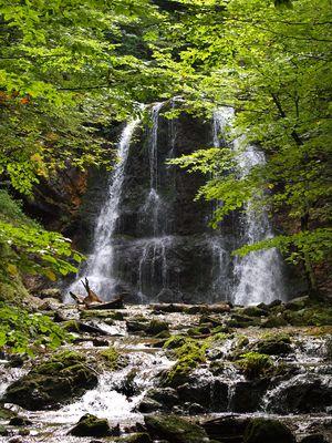 Wasserfall bei Neuhaus (Landkreis Miesbach)