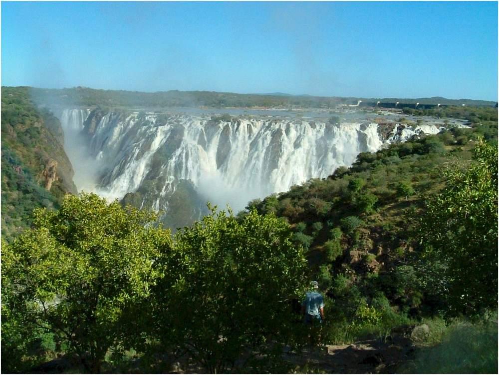 Wasserfall bei Ruacana