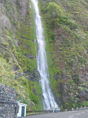 Wasserfall bei Sao Vicente