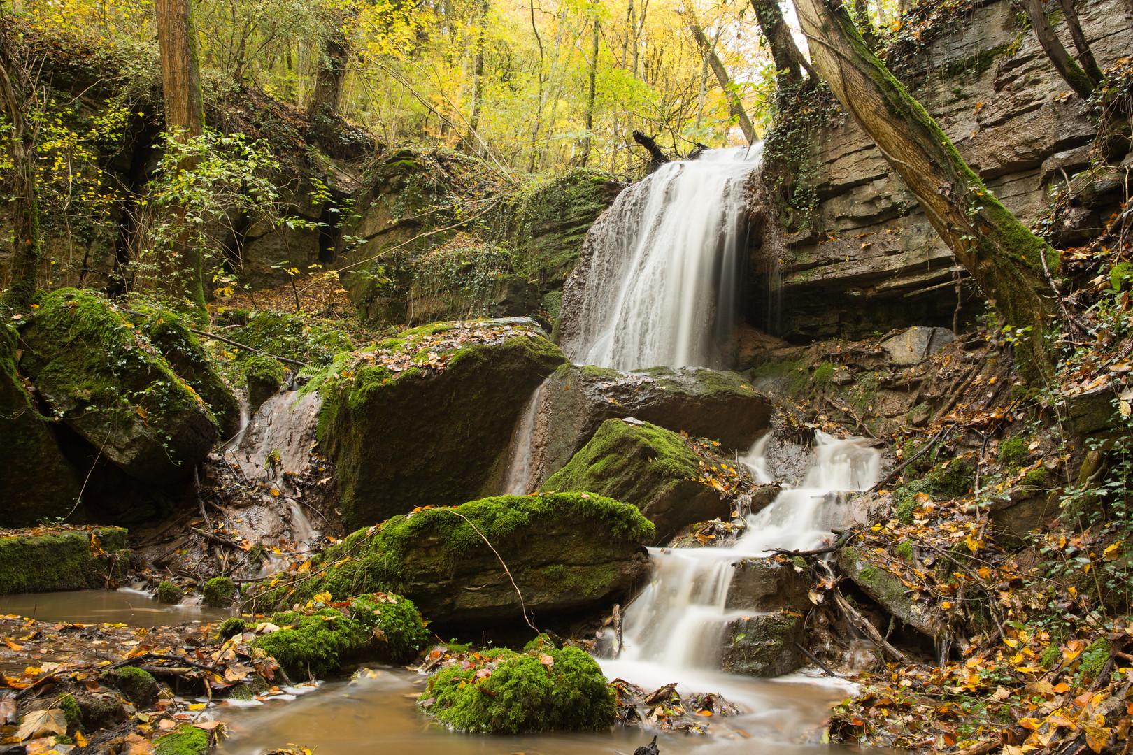 Wasserfall bei Wallendorf/ Eifel