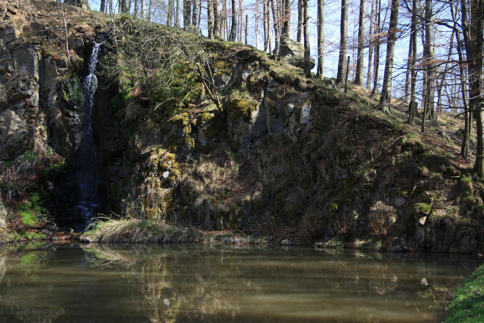 Wasserfall Christerode