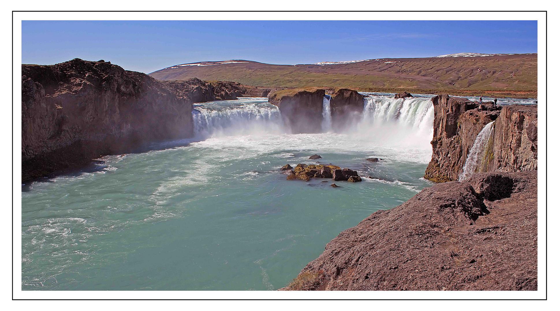 Wasserfall Godafoss - Island
