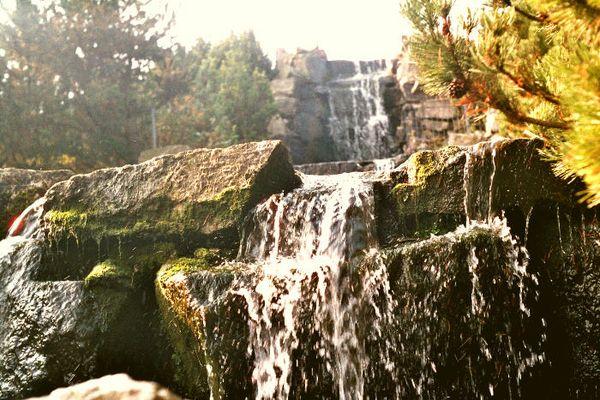Wasserfall II in Essen