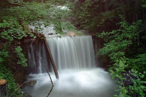 Wasserfall im Bärgundttal