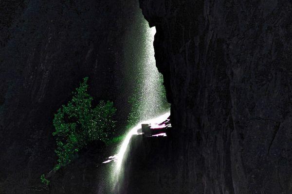 Wasserfall im Gegenlicht (reloaded)