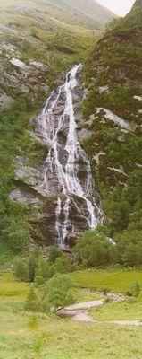 Wasserfall im Glen Nevis