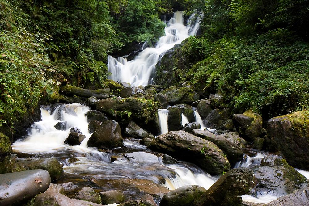 Wasserfall im Killarney National Park