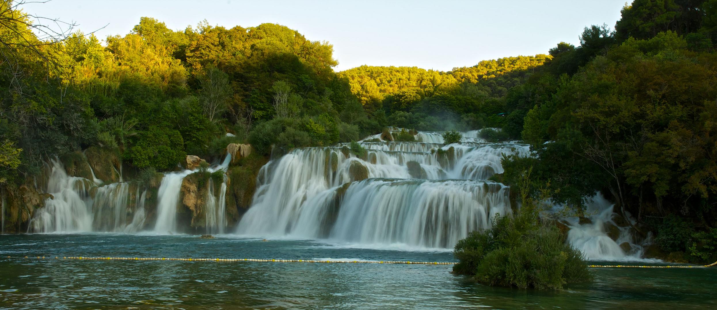 Wasserfall im Krka Nationalpark