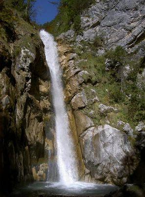 Wasserfall im Maltatal