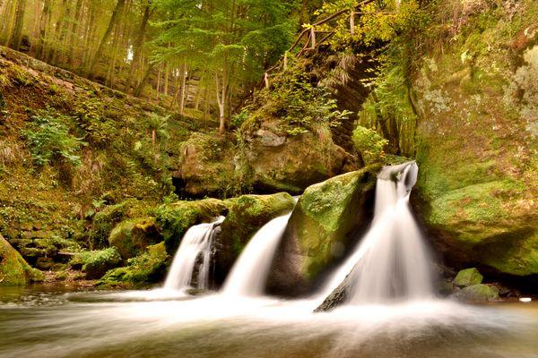 Wasserfall im Müllertal