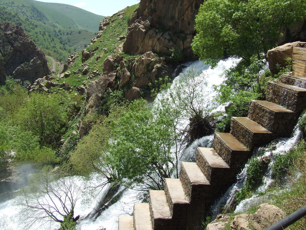 Wasserfall im Norden Iraks