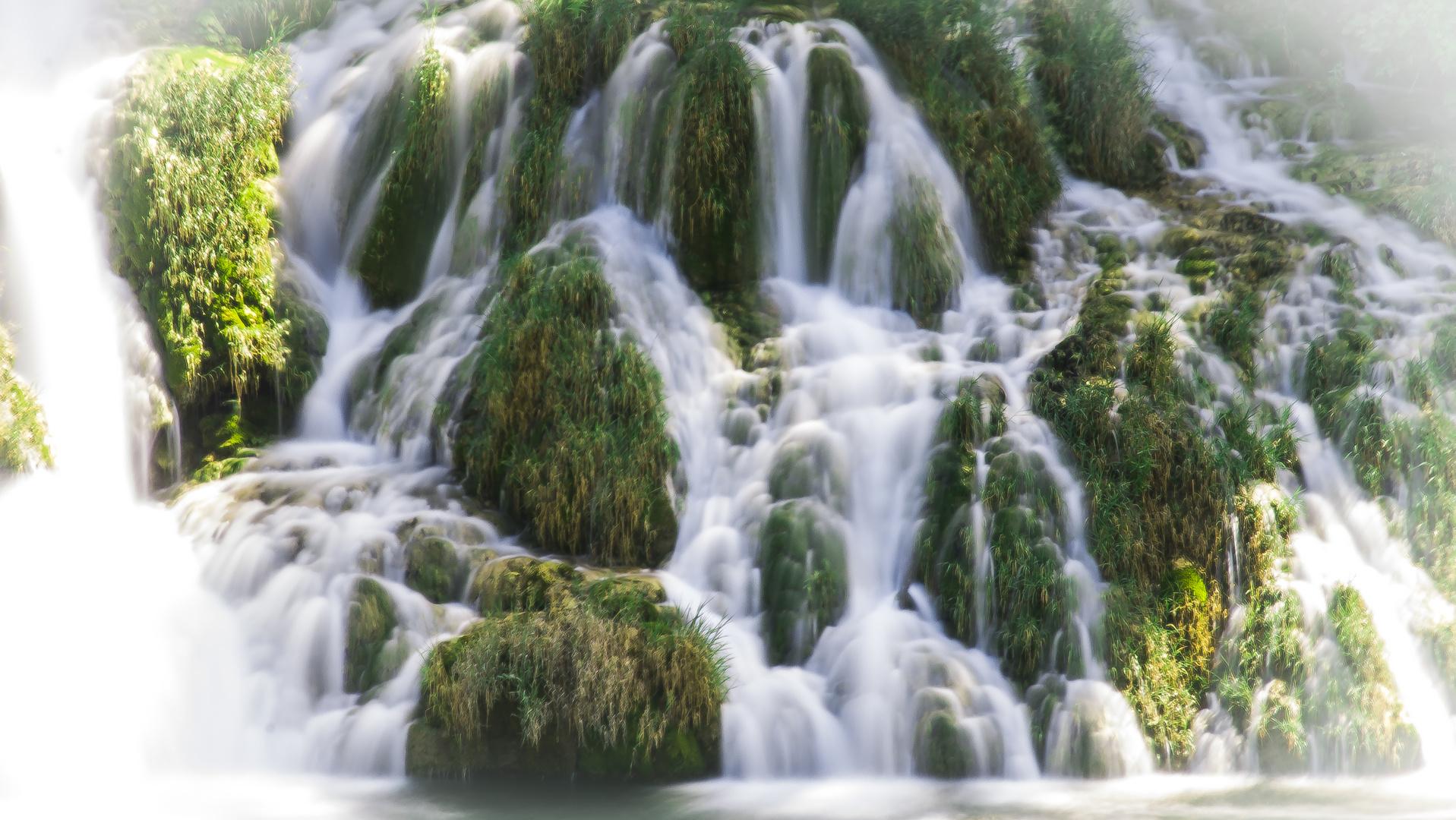 Wasserfall im Np Krka