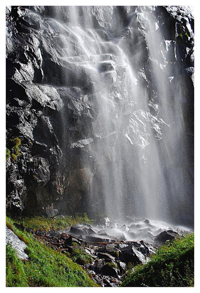 Wasserfall im Stillupgrund